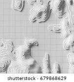 3d cartography concep... | Shutterstock . vector #679868629