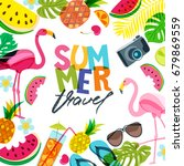 vector banner  poster  flyer... | Shutterstock .eps vector #679869559