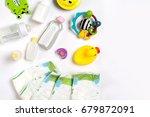 babies goods diaper  baby... | Shutterstock . vector #679872091