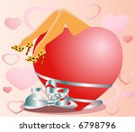 body and soul   valentine card | Shutterstock .eps vector #6798796