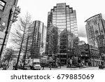 modern office building in... | Shutterstock . vector #679885069