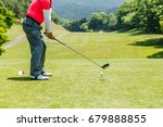 golf course  | Shutterstock . vector #679888855