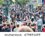 hamburg  germany   july 07 ... | Shutterstock . vector #679891699