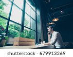 low angle view of a successful... | Shutterstock . vector #679913269