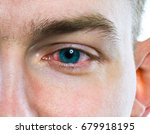 close up of human's red eye.... | Shutterstock . vector #679918195