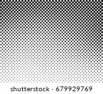 abstract halftone dotted black... | Shutterstock .eps vector #679929769