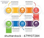 infographic design vector...   Shutterstock .eps vector #679937284