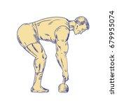 illustration of a superhero... | Shutterstock . vector #679955074