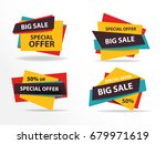 colorful shopping sale banner... | Shutterstock .eps vector #679971619