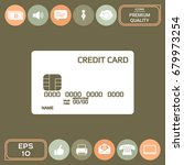 credit card icon | Shutterstock .eps vector #679973254