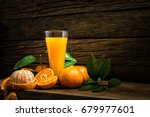 still life glass of fresh... | Shutterstock . vector #679977601