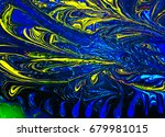 Colorful Abstract Painted...
