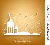 ramadan kareem  background.... | Shutterstock . vector #679987591