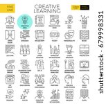 creative learning concept... | Shutterstock .eps vector #679998331