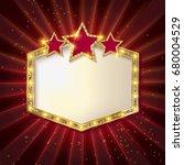 showtime retro signs. retro... | Shutterstock . vector #680004529