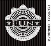 fun silvery emblem | Shutterstock .eps vector #680007535