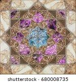 Seamless Stone Tile Pattern...