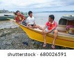 lahad datu sabah  malaysia  ... | Shutterstock . vector #680026591