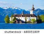 gmunden schloss ort or schloss...   Shutterstock . vector #680051809