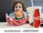 auckland   july 18 2017 little...   Shutterstock . vector #680055685