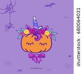 Pumpkin Unicorn. Funny...