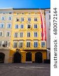 Mozarts Birthplace Or Mozarts...