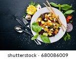 grilled vegetable salad ...
