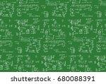 classic physics seamless... | Shutterstock .eps vector #680088391