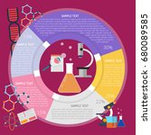 testing it infographic | Shutterstock .eps vector #680089585