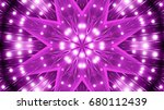 purple floodlights background | Shutterstock . vector #680112439