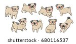 vector illustration draw... | Shutterstock .eps vector #680116537