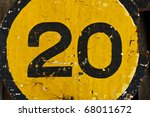 """""""number 20""""  the old traffic... 