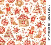 Winter Seamless Patterns With...