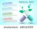 medicine and treatment... | Shutterstock .eps vector #680163505