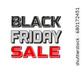black friday super sale concept....   Shutterstock . vector #680172451