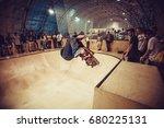 moscow 6 september 2015... | Shutterstock . vector #680225131