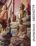 buddha statue at chiangmai... | Shutterstock . vector #680240779