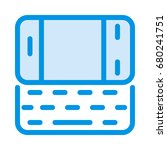 mobile keyboard icon