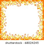 beautiful background with... | Shutterstock .eps vector #68024245