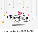 beautiful illustration of happy ... | Shutterstock .eps vector #680244685