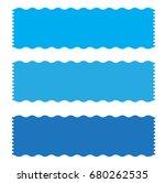 blue banner ribbon icon on... | Shutterstock .eps vector #680262535