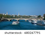 paris  france   april 9  2017 ... | Shutterstock . vector #680267791