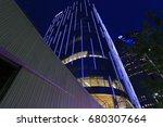 dallas arts district july 14 ... | Shutterstock . vector #680307664