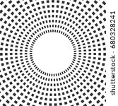 halftone circle background.... | Shutterstock .eps vector #680328241