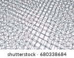 abstract conceptual square ... | Shutterstock .eps vector #680338684