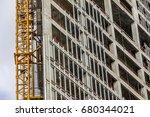 building under construction... | Shutterstock . vector #680344021