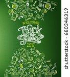 back to school vertical... | Shutterstock . vector #680346319