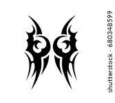 tattoo tribal vector designs.   Shutterstock .eps vector #680348599