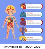 health medical poster with... | Shutterstock .eps vector #680391301
