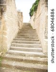 Carved Stone Stairs Of Menorca...
